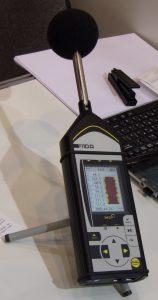 Процедура измерения шума