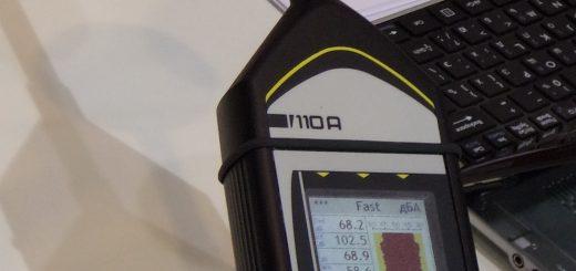 Измерение уровня шума