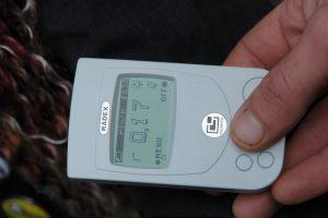 Замер электромагнитного излучения от ЛЭП