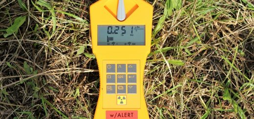 Измерение электромагнитного излучения на участке