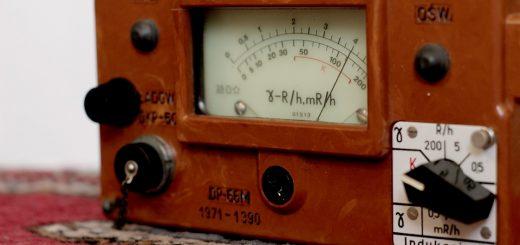 Измерение мощности гамма излучения