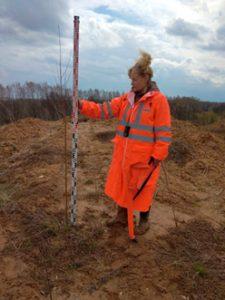 объемов загрязненных грунтов, уничтоженной почвы